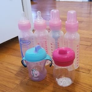 Bundle Dr. Brown's bottles and sippy cups